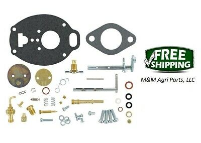 Carburetor Kit John Deere M Mc Mt 40 320 330 Tractor Tsx245 Marvel Carb