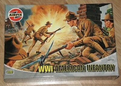 1/72 AIRFIX   WWI AMERICAN INFANTRY