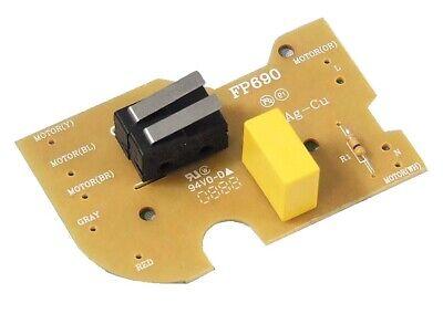 Placa de Circuito Interruptor para Robot de Cocina KENWOOD Recambios FP 690...