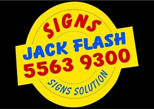 Jack Flash Signs, Printing, Design & Promotion Biggera Waters Gold Coast City Preview