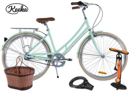 LOW STEP-THROUGH 'KEEKA' 3 Speed | Basket, Light, Rack & Delivery Newcastle 2300 Newcastle Area Preview