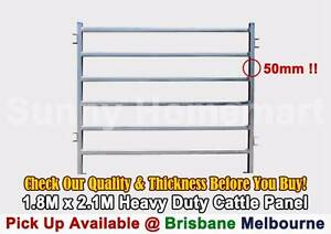 Heavy Duty Cattle Yard Panel Gate Animal Horse Race Bow Man Gate Richlands Brisbane South West Preview