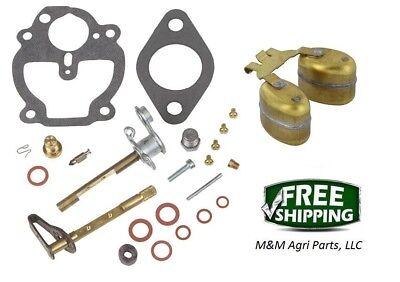 Complete Carburetor Kit Float Ih Farmall A B Bn C Super A Tractor Zenith Carb