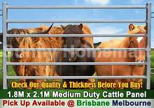 NEW Heavy Duty Cattle Horse Yard Panel 50*50mm Frame 6 Oval Bars Derrimut Brimbank Area Preview