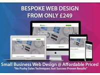Bespoke Business Web Design At Small Business Prices