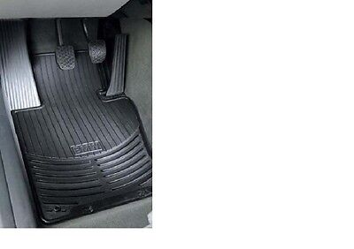 BMW All Weather Front Rubber Floor Mats 3 Series 2000 2005 Black 82550151192