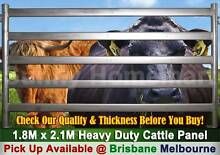 1.8 M x 2.1M Heavy Duty Portable Cattle Horse Yard Panel Derrimut Brimbank Area Preview