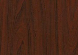 Mahogany Woodgrain Wood Effect Sticky Back Plastic Self Adhesive Vinyl Film 2m