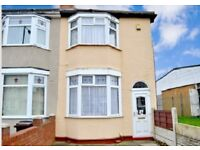 3 Bedroom End Terrace House for Sale with Drive and Garage Caledonia Road, Parkfields Wolverhampton
