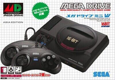 SEGA Mega Drive Mini 42 Game 6 Button 2 Controller Kids Console Hobbies_ageq Games Mini Button