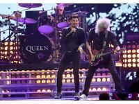 1 x Queen and Adam Lambert ticket