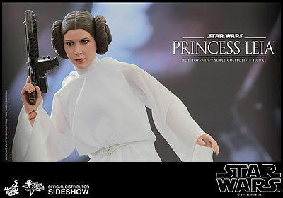 STAR WARS~EPISODE IV-ANH~PRINCESS LEIA~SIXTH SCALE FIGURE~MMS~HOT TOYS~MIB