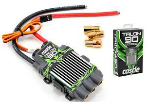 Castle Creations Talon 90 ESC 90A 25.2V Brushless Speed Control