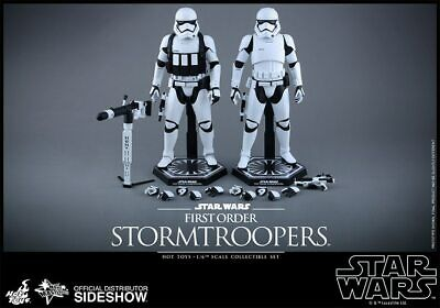 Star Wars Force Awakens First Order 2 Pack Stormtroopers figure Hot Toys MMS319