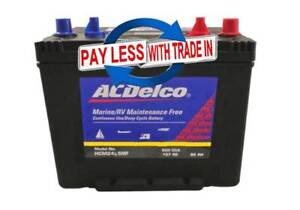 DEEP CYCLE, MARINE, CAMPING Battery ACDelco HCM24SMF / LSMF 82ah