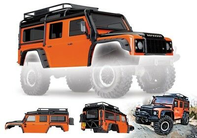 Traxxas 8011A TRX-4 Land Hobo Defender Adventure Edition Orange Painted Body