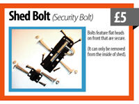 J-Bolt for Sheds or Gate £5