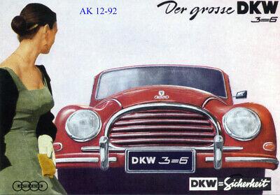 Der Trabi in Aktion Super Trabi Zwickau Sachsen K 7 1 Mehrbild Postkarte