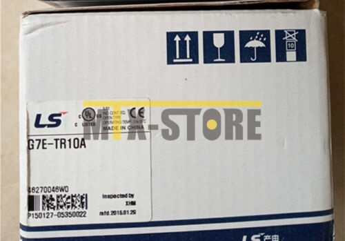 Used LS LG PLC G7E-RY08A Expansion Module Tested