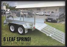 REGO INC **TRADESMAN SPECIAL**Gal Tandem Ramp 8x5 Braked Trailer Meadowbrook Logan Area Preview