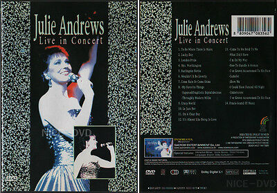 JULIE ANDREWS - Live in Concert (RARE) DVD, NEW!!