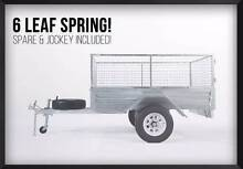 Cage! Tilt! Spare! 6x4 Gal Trailer!! We Dont charge you extra!!! Meadowbrook Logan Area Preview