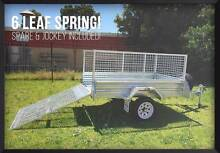 Month Special! 7x4 Gal Ramp Box Cage Mower Bike Trailer Meadowbrook Logan Area Preview