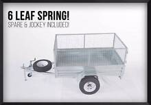 DRIVE AWAY! BEST PRICE GUARRENTEE! 7x4 Gal Trailer with Cage Meadowbrook Logan Area Preview