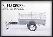 REGO INC! Hot Dipped Gal 7x5 Box Trailer - Tilt – Welded Meadowbrook Logan Area Preview