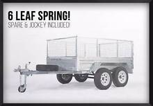 SALE! LICENSED GALVANIZED TANDEM BRAKED 8x5 BOX TRAILER O'Connor Fremantle Area Preview