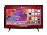 Hitachi 43 Inch Full HD Smart LED TV   WiFi   Boxed   Warranty   AS NEW
