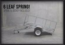 SALE! LICENSED FULLY GALVANIZED 8x5 BOX TRAILER O'Connor Fremantle Area Preview