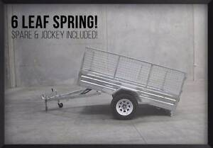 REGO INC! ULTRA LONG DRAWBAR - Gal 8x5 Trailer Full Package Deal! Meadowbrook Logan Area Preview