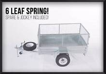 DRIVE AWAY PRICE! BEST PRICE GUARRENTEE!7x4 Gal Trailer with Cage Meadowbrook Logan Area Preview
