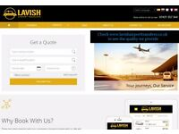 Taxi Booking and Dispatch Software £250 one off, Taxi Website Design
