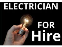 Electrician for all repairs, 24/7, lights, sockets, installing electrics, fixing and wiring stuff..