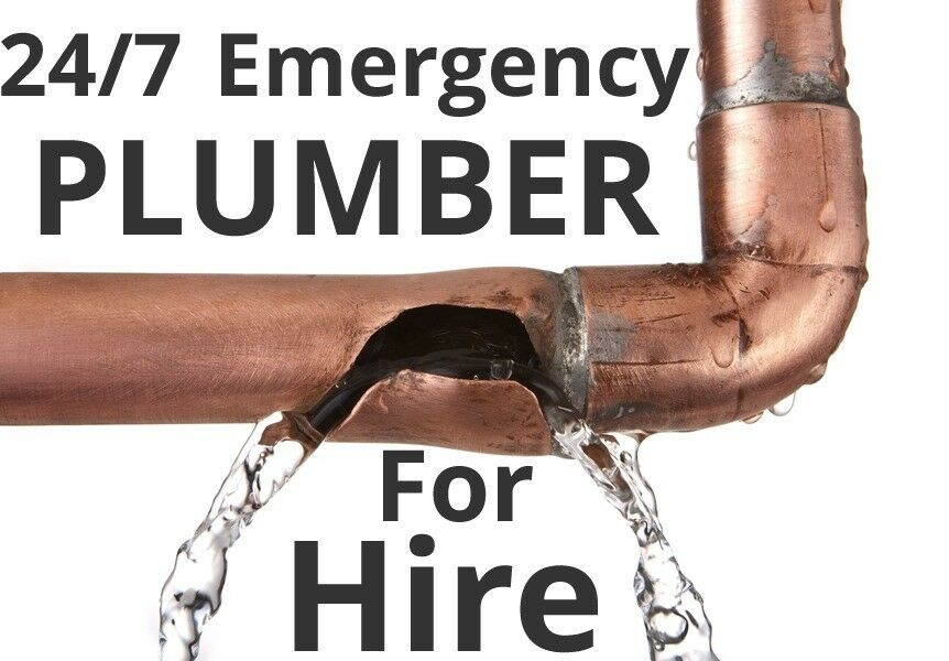 Plumber for emergency repairs, - 24/7 - plumbing work, heating, bathroom installations, leaks sorted