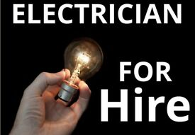 Electrician for all repairs, 24/7, lights sockets, installing all electrics, fixing n wiring stuff.