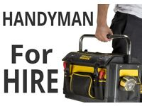 Experienced Belfast Handyman Service available for all house repairs, maintenance and smaller jobs.