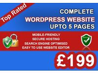 Web Design Birmingham - Secure WordPress Website Only From £199 Fully Optimised & SEO Friendly