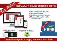Web Design Birmingham Restaurant Online Ordering System only From £699 (Limited Time Offer)