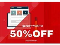 £149 Web Design | Wordpress | Ecommerce | Responsive |SEO | Logo Design