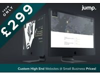Custom High End Web Design £299. Experienced Website Designer, SEO, Design