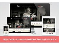 High Quality Affordable Website Design from £249 - Web Design / eCommerce / SEO / Graphics Design