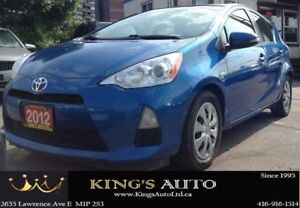 2012 Toyota Prius c HYBRID TECHNOLOGY, ECO MODE, TRACTION