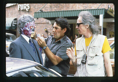 They Live Director John Carpenter on set special effects Original Transparency