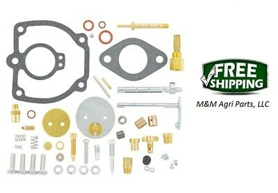 Farmall Super M Mta Mv Complete Carburetor Kit Ih 356948r92 357231r92 Carb