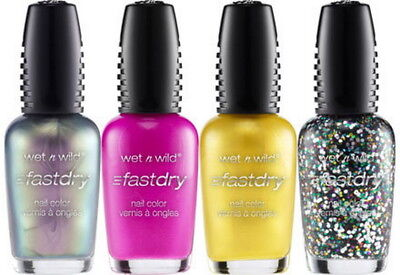 Wet N Wild Fast Dry Nail Polish *Choose Your Color* Will Combine Shipping NEW! Dry Nail Colour