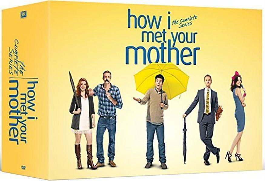 Купить How I Met Your Mother: The Complete Series Season 1-9 (DVD 2017 28-Disc Box Set)