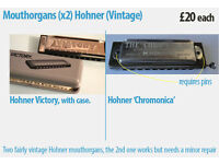 Mouthorgans (x2) Hohner (Vintage)